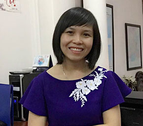Ms. Hoang Thi Thuy Hang, Director of manufacturing Ms. Hoang Thi Thuy Hang, Managing Director